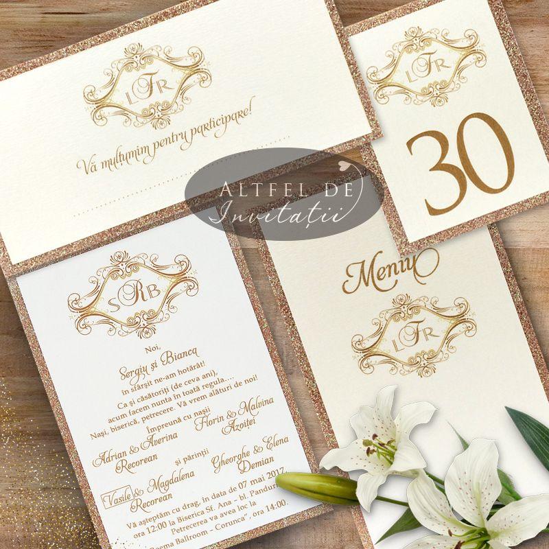 Invitatii de nunta Altfel de Invitatii