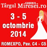 Targul de Nunti Ghidul Miresei - editia de toamna 2014