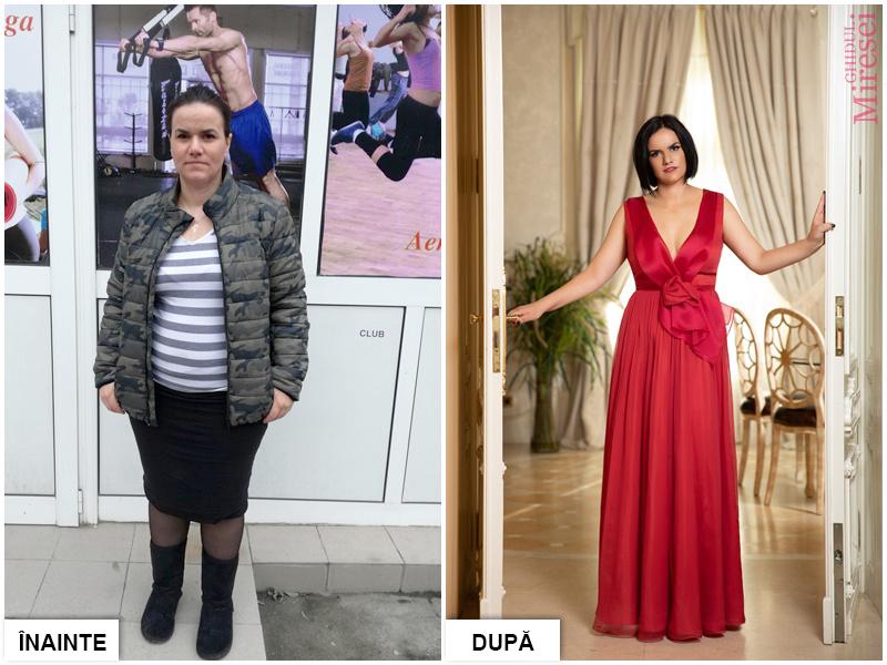 Castigatoarea concursului organizat de Ghidul Miresei si Carmen Bruma a slabit 14 kg in doua luni!
