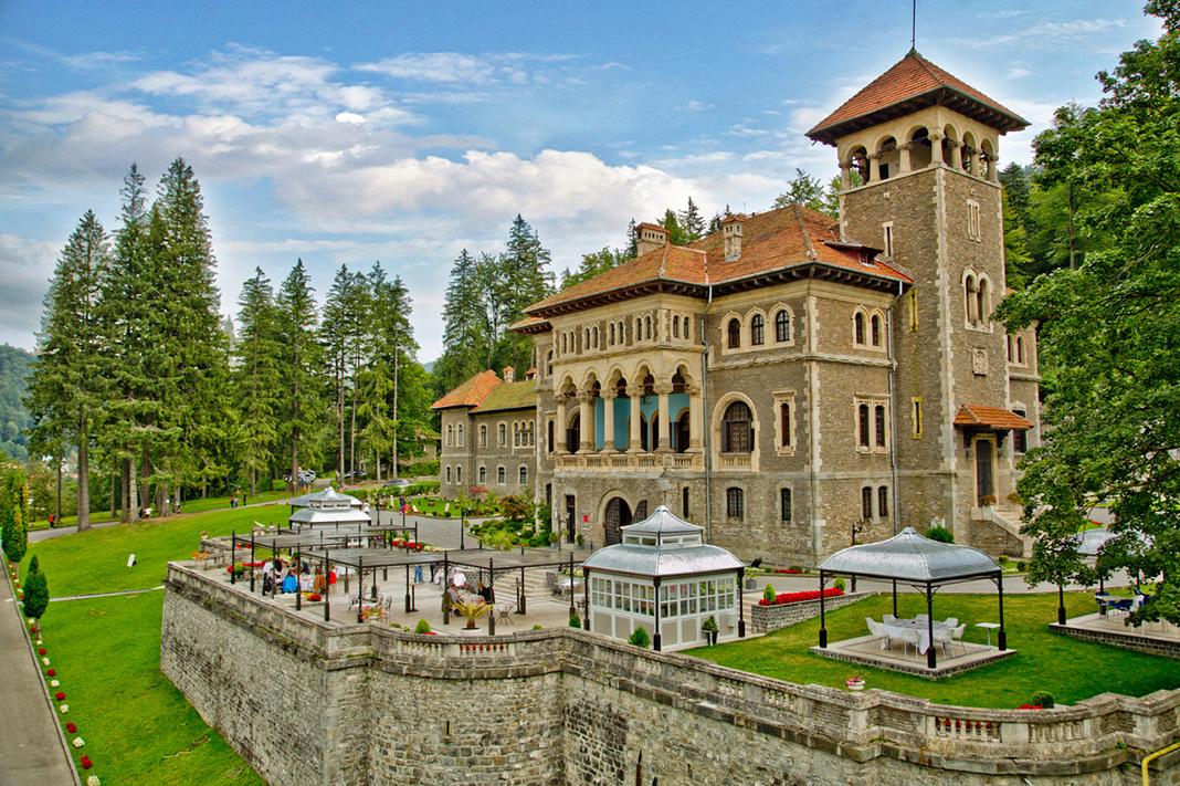 Nunta la castel Cantacuzino