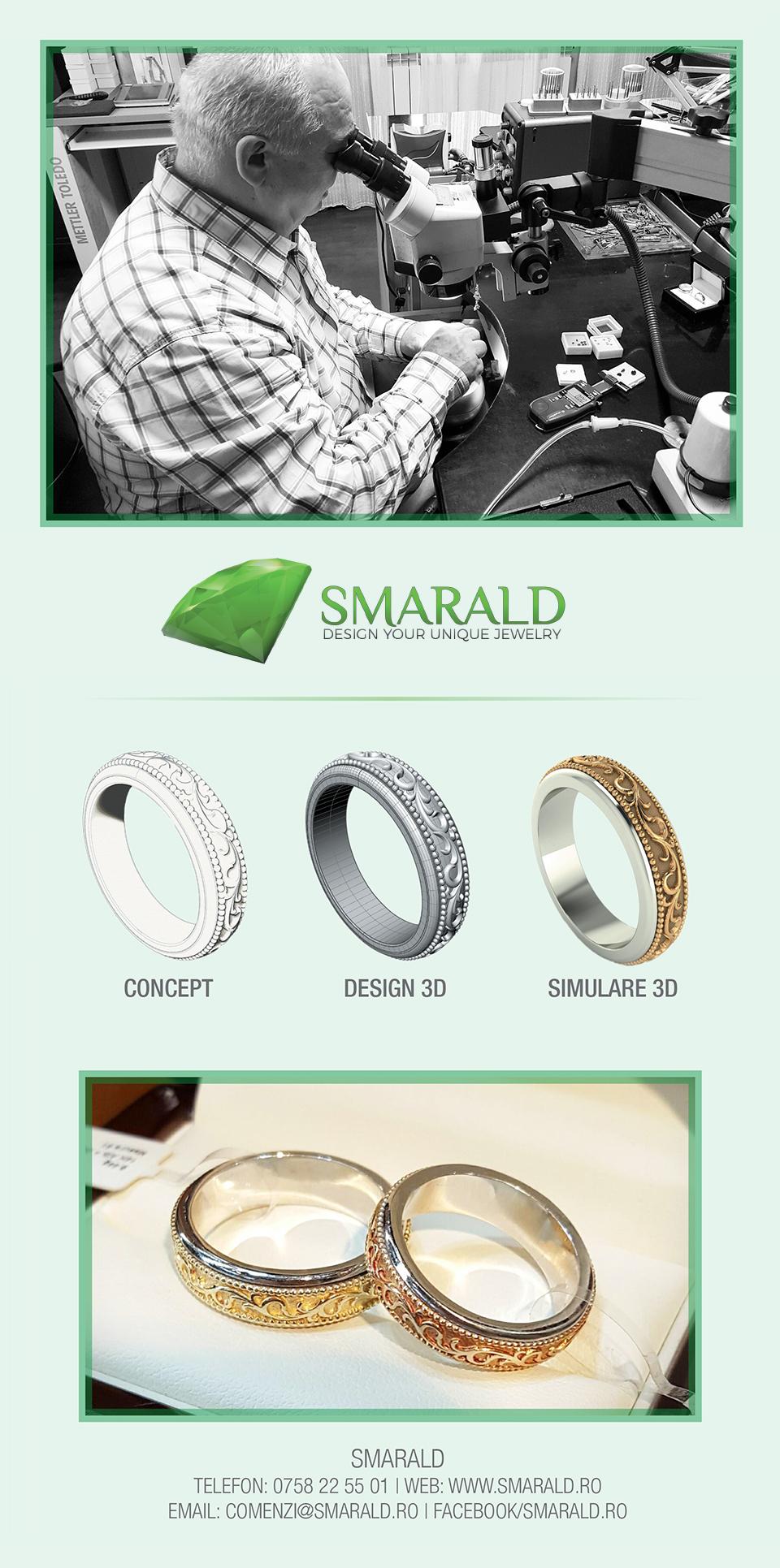 Bijuterii personalizate Smarald