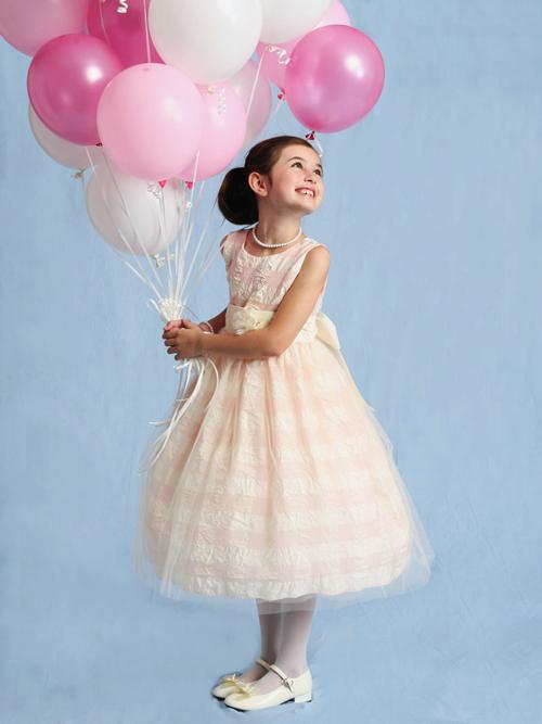Fetita cu baloane