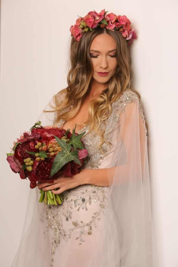Adela Popescu in rochia de mireasa