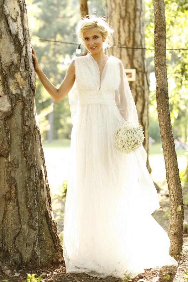 Dana Rogoz in rochia de mireasa