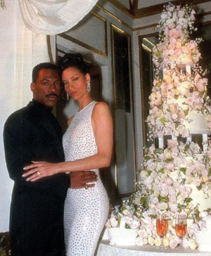 Eddie Murphy si Nicole Richards
