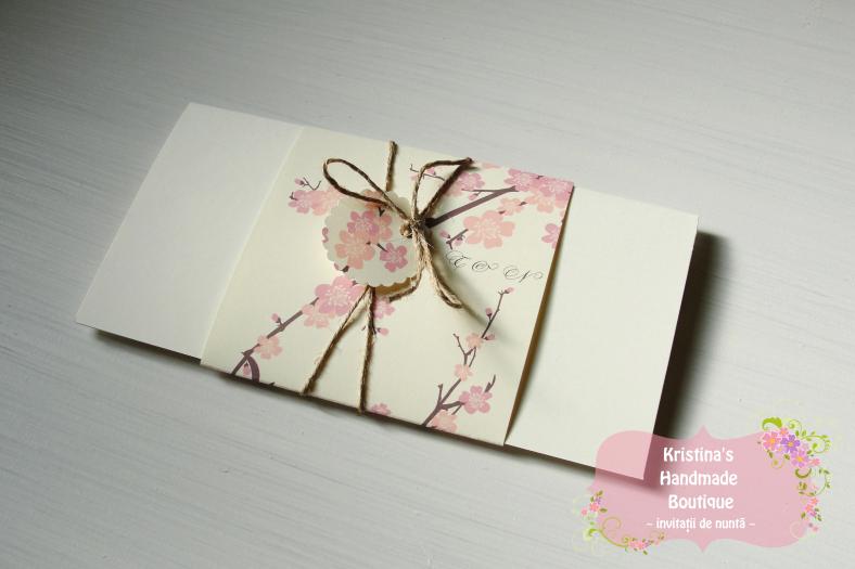 Invitatii De Nunta Kristinas Handmade Boutique