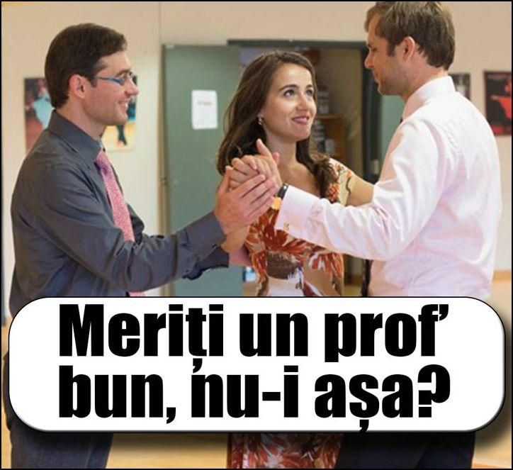 Ce calitati trebuie sa aiba profesorul tau de dans pentru nunta?
