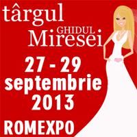 Targul Ghidul Miresei 27-29 septembrie 2013