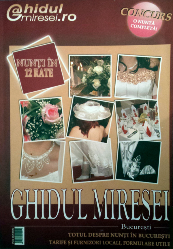 Revista Ghidul Miresei - editia  01