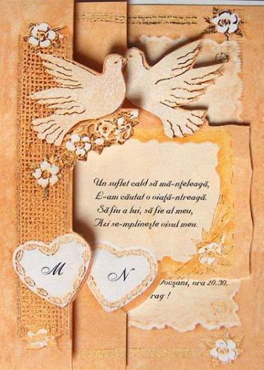 Poze Invitatii Nunta Carduri Nunti Motto Ul Acestei Invitatii