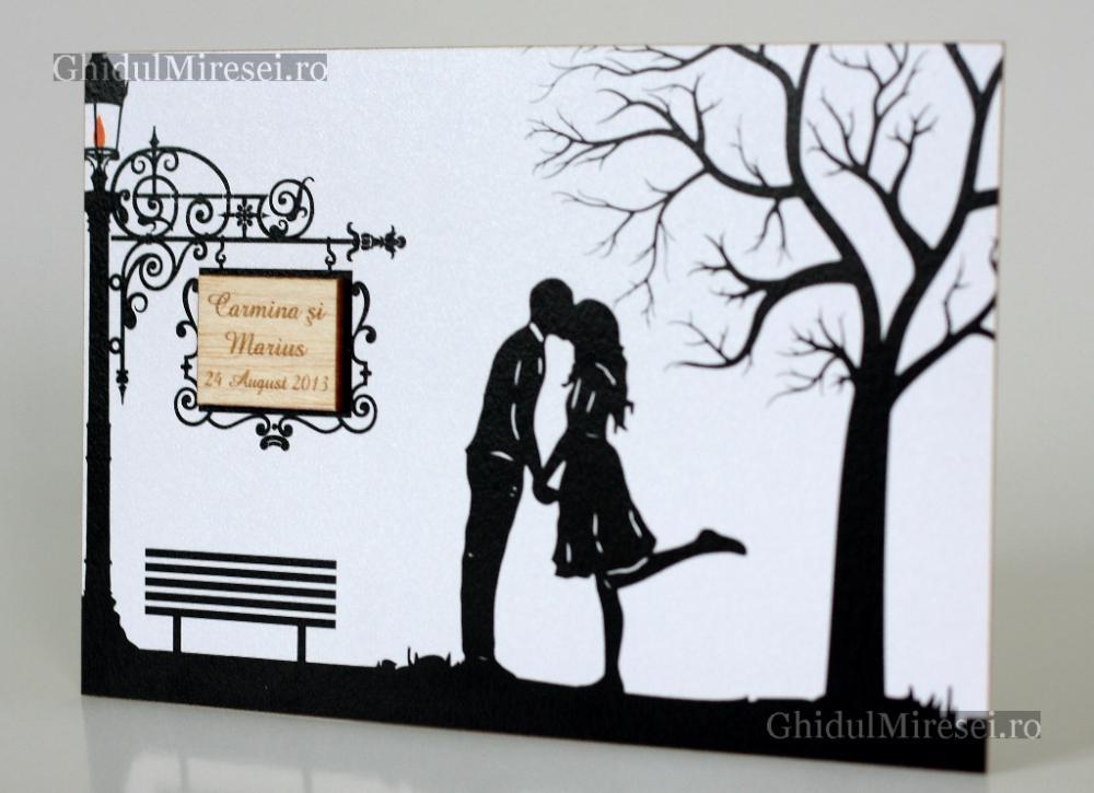 Poze Invitatii Nunta Carduri Nunti Invitatie De Nunta Primul Sarut