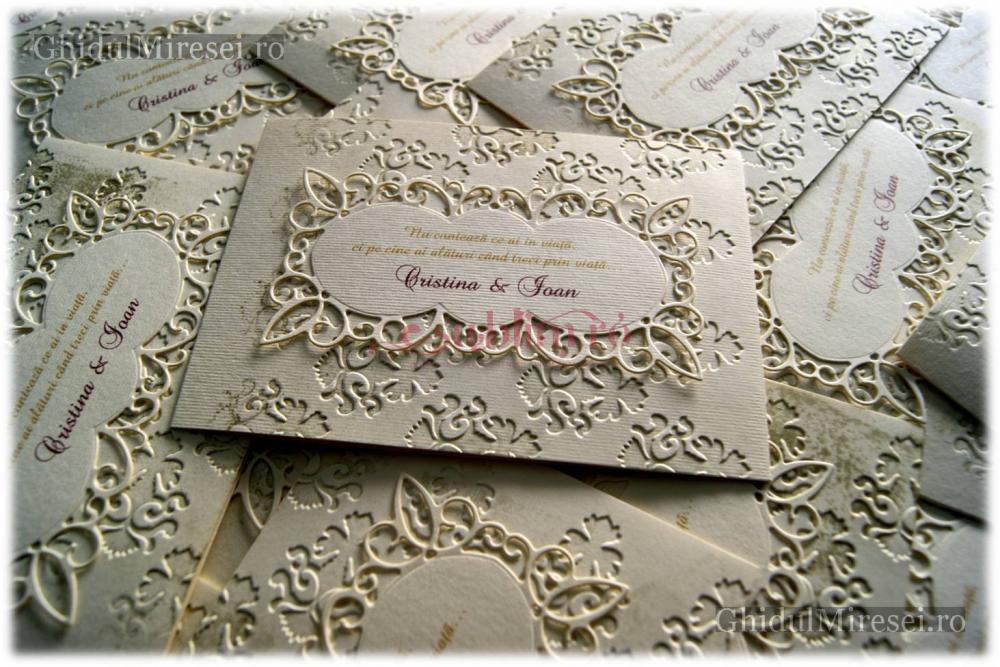 Poze Invitatii Nunta Carduri Nunti Invitatie Handmade Royalty