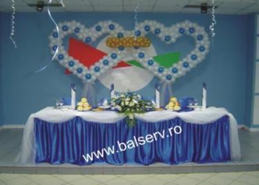 Poze Decoratiuni Nunti Poate Fi Ales Pe Albastru Roz Alb Rosu
