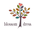 Logo Blossom Dress