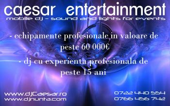 DJ nunta Caesar Entertainment