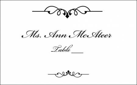 monogram wedding program cover.